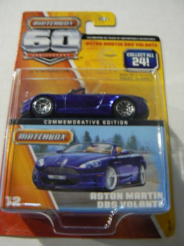 Matchbox Commemorative Edition Aston Martin Dbs Volante 60th Anniversary