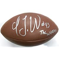T.j. Ward Cleveland Browns Signed Autographed Football with Certificate of Authenticity