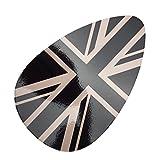 SKYBELL(スカイベル) ダッシュ ボード パネル ステッカー エアコン BMW MINI 用 F55 F56 【 選べるカラー】 (ブラックジャックⅢ)