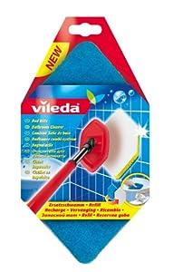 Vileda VIL128297 Bath Magic Mop Refill: Amazon.co.uk ...