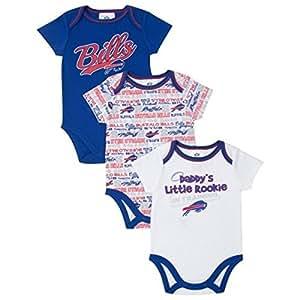 Amazon Gerber Buffalo Bills Infant 3 piece Bodysuit