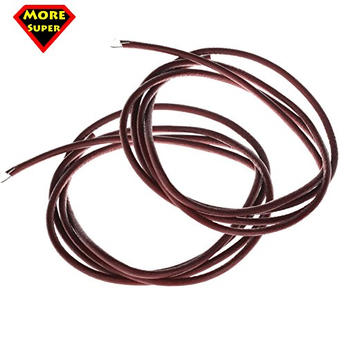 Cheapest Price! Super More Pack of 2 High Quality 6ft Leather Belt for Singer Treadle Sewing Machine...