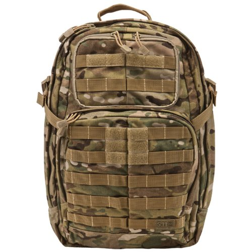 5.11 Rush 24 Tactical Backpack Combat Pack 34L Crye MultiCam Camo
