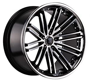20″ Rohana Wheel Rc20 20×9 20×10 Machined Black Genesis Coupe 5×114.3