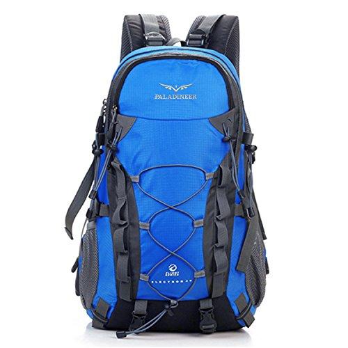 パラディニア(Paladineer) ハイキングバックパック ナイロン 大容量 ブルー 40L