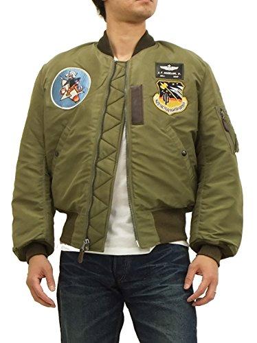 (バズリクソンズ) Buzz Rickson's BR13106 B-15C(MOD.) フライトジャケット オリーブ (38(メンズMサイズ))