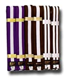 SHOGUN belt, purple with one white stripe, size: 240cm
