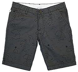 Aristot Boys' 4 Years Cotton Shorts (01B015A, Grey)