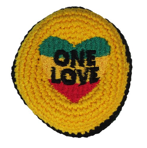 Hacky Sack - Rasta Design One Love - 1