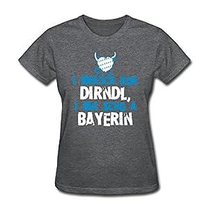 Printer Womens O-Neck T Shirt,DeepHeather Tshirt