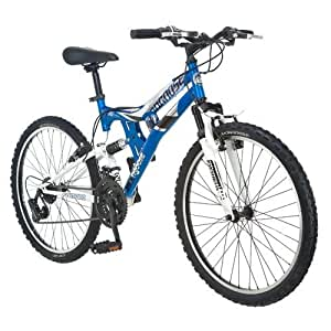 "Amazon.com : Mongoose Exlipse 24"" Boys Dual Suspension Mountain Bike"