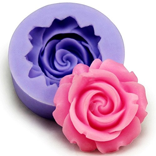 Roses Flower Silicone Cake Mold Chocolate Sugarcraft Decorating Fondant Fimo Tool. (Mexican Hot Chocolate Pot compare prices)