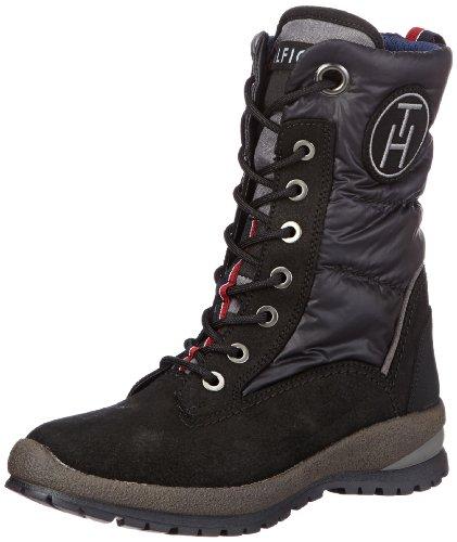 Tommy Hilfiger Womens BRITT 6 C Snow Boots Black Schwarz (BLACK 990) Size: 38