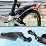 SAVFY� Mudguard Easy-fit for Rear Bic...