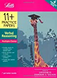 11+ Practice Papers Multiple Choice Verbal Reasoning