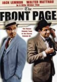 Ruthless newspaper editor Walter Burns (Walter Matthau) and his crack ace reporter Hildy (Jack Lemmon) believe together they can cover any story. The only problem is their team is being broken up as Hildy has decided to get married and leave the news...