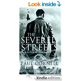 The Severed Streets (Shadow Police series Book 2)