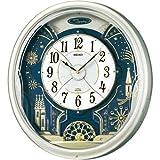SEIKO CLOCK (セイコークロック) 掛け時計 ウエーブシンフォニー 電波時計 ツイン・パ からくり RE561H