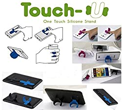 Touch-U One Silicone Stand for Mobile Holder support sticks back 5 Pcs Set