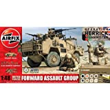Airfix 1:48 British Forces Forward Assault Group Gift Model Set