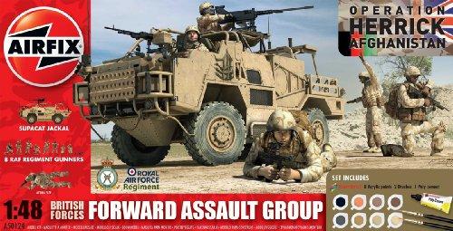 Airfix A50124 Modellbausatz Forward Assault Group Gift Set