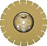 Diamond Products Core Cut Diamond Product 14072 Standard Gold Segmented High Performance Turbo Diamond Blade 18 X .125 X 1