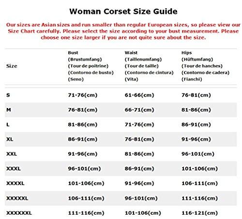 Vacodo-Womens-Overbust-Corset-Bustier-Basque-Top