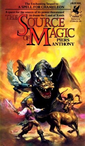 The Source Of Magic (Xanth 2)