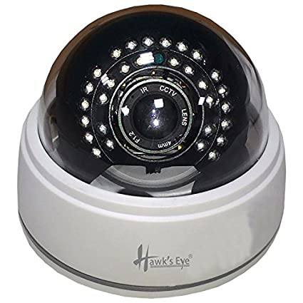 Hawks Eye D26-30-1.3-AHD 30 IR Dome CCTV Camera