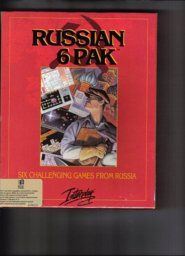 Interplay RUSSIAN 6 PAK IBM Computer game