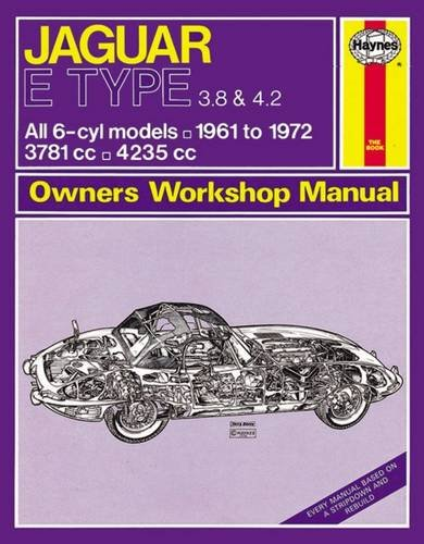 Jaguar E-type Owner's Workshop Manual (Haynes Service and Repair Manuals)