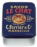 French Classics Savon Chat Metal Box