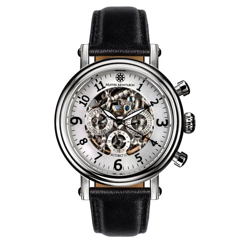 Mathis Montabon Montre Homme Executive argent MM-15
