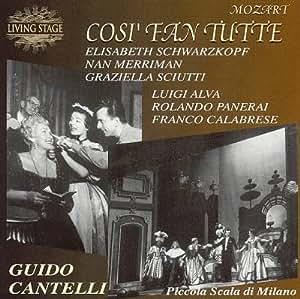 Mozart: Cosi Fan Tutte / Cantelli (1956)