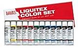 リキテックス アクリル 絵の具 リキテックスカラー レギュラータイプ 6号チューブ 12色セット 伝統色