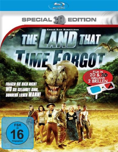 The Land that time forgot (3D-Special Edition) [Blu-ray]