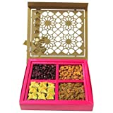 Chocholik Dryfruits Gift - Healthy Delicious Dry Fruit Box With Baklava - Gifts For Diwali