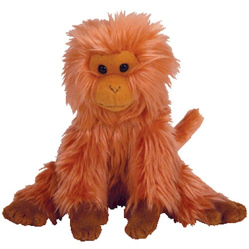 TY Beanie Baby - CAIPORA the Golden Lion Tamarin (Internet Exclusive) - 1