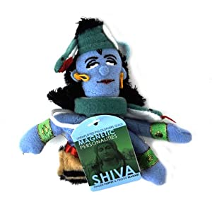 Magnetic Finger Puppet - Shiva from Unemployed Philosophers Guild