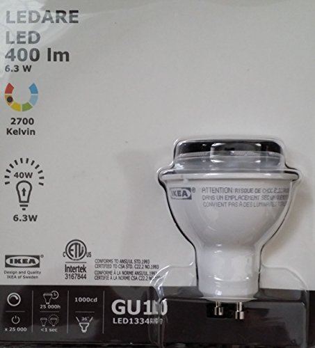 Ikea Ledare GU10 Lightbulb 400 LM, 2700 Kelvin, Dimmable (Ledare Bulb compare prices)