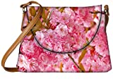 Snoogg Unique Flowers Designer Womens Carry Around Sling Bags