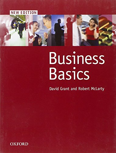 Business Basics New Edition: Student's Book