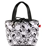 Disney Mickey Mouse Black & White Purse, Lunch Tote, Bag
