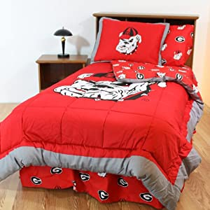 College Covers Georgia Bulldogs King Bed-In-A-Bag Set by College Covers