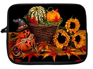10 inch Rikki KnightTM Halloween Designs Collection Laptop sleeve - Ideal for iPad 2,3,4, iPad Air, Galaxy Note, Small Notebooks and other Tablets from Rikki Knight