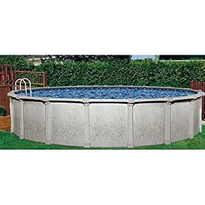 Tahitian 27in round 54in hybrid above ground for Largest round above ground pool