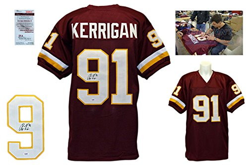 Ryan Kerrigan Signed Jersey - JSA Witness - Washington Redskins Autographed w/ PHOTO ryan fitzpatrick autographed hand signed buffalo bills 8x10 photo