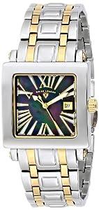 Swiss Legend 20024-SG-01MOP - Reloj de pulsera mujer, acero inoxidable, color plateado