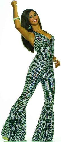 Forum Novelties Women's Boogie Dancing Babe 70's Costume, Multicolor, X-Small/Small