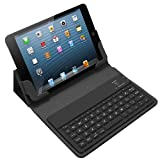 Bluetoothキーボード レザーケース for iPad mini [MK6000-BK]